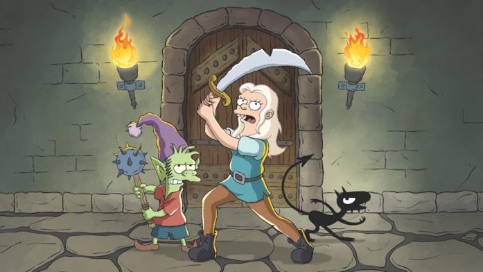 Bean, Elfo e Luci si preparano a combattere
