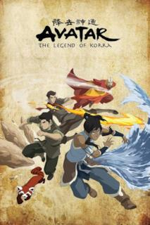 Poster Avatar - La leggenda di Korra