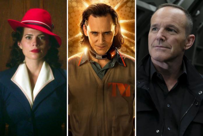 Peggy Carter, Loki e Phil Coulson