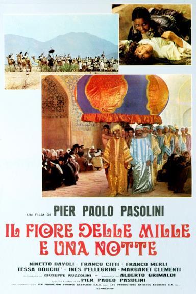 Poster Il fiore delle Mille e una notte