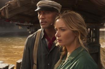 The Rock e Emily Blunt su Jungle Cruise