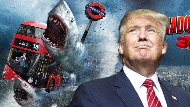 Il Presidente Donald Trump e Sharknado 3