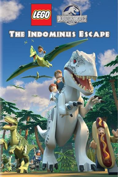 Poster LEGO Jurassic World: L'evasione di Indominus Rex