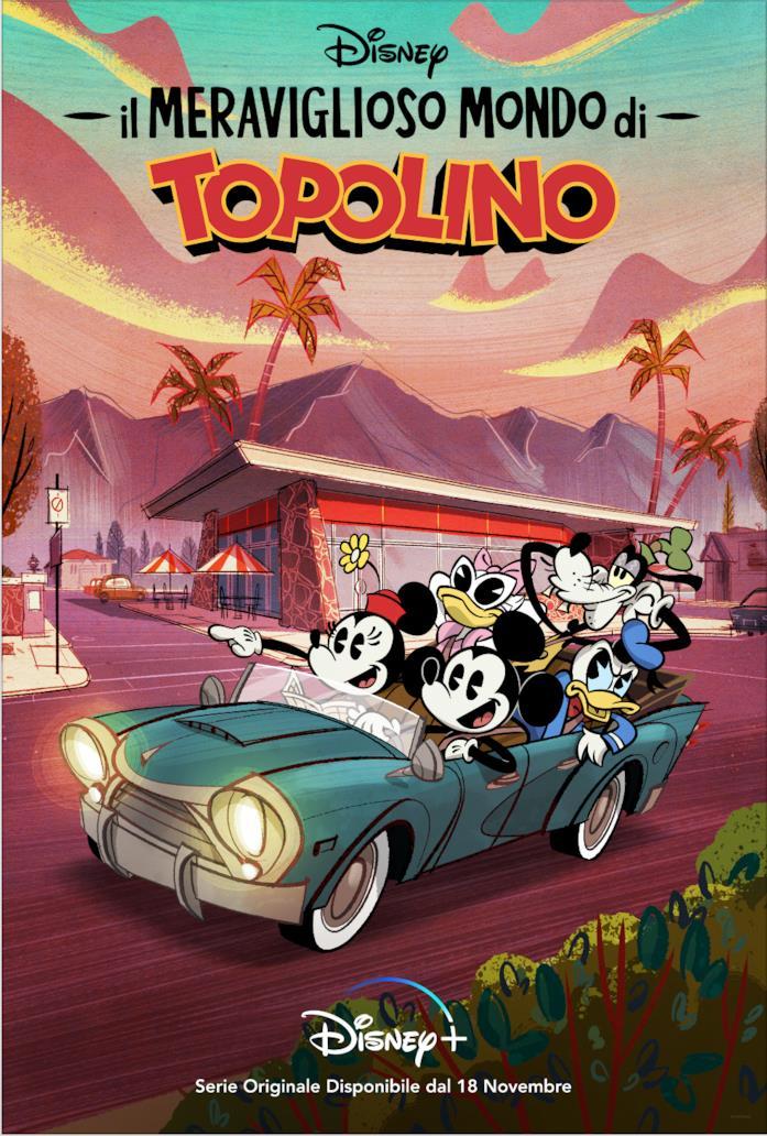 Il meraviglioso mondo di Topolino, la serie arriva su Disney+
