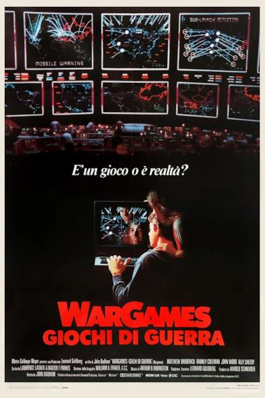 Poster WarGames - Giochi di guerra