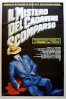 Poster Il mistero del cadavere scomparso