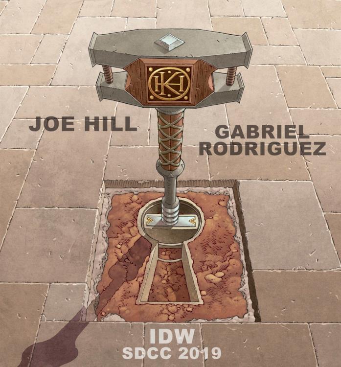 Panel San Diego Locke & Key