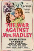 Poster The War Against Mrs. Hadley