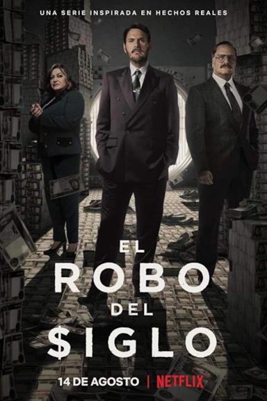 Poster La rapina del secolo