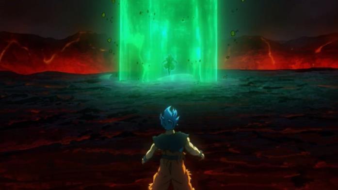 Broly Leggendario Super Saiyan in film Super