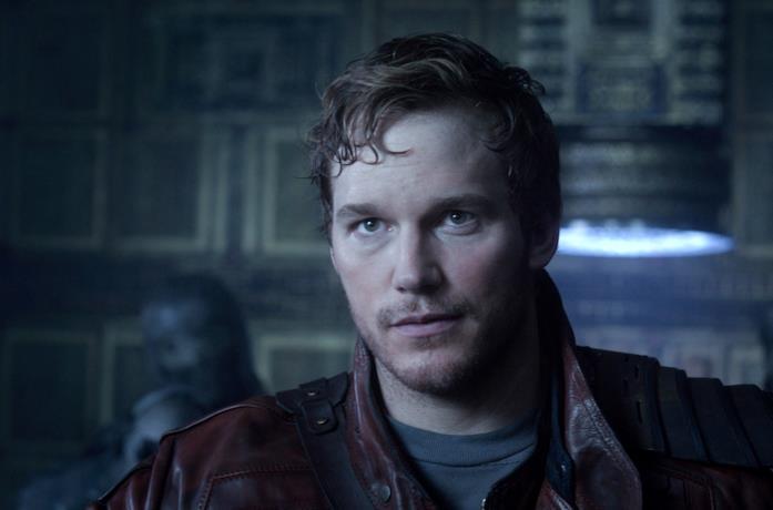 Chris Pratt è Peter Quill in Guardiani della Galassia