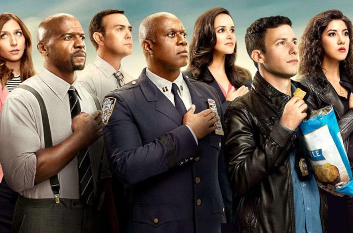 I protagonisti di Brooklyn Nine-Nine in un'immagine promozionale