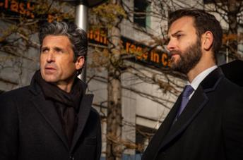 Patrick Dempsey e Alessandro Borghi in Diavoli
