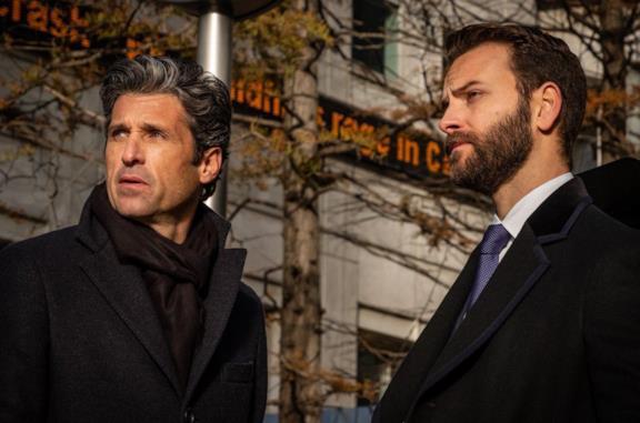 Alessandro Borghi e Patrick Dempsey