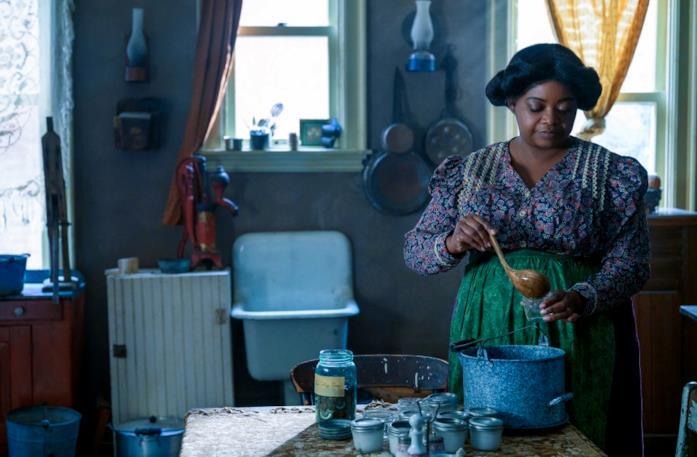 Una scena tratta dalla serie Self-made: la vita di Madam C.J. Walker