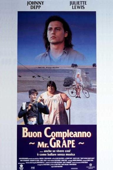 Poster Buon compleanno Mr. Grape