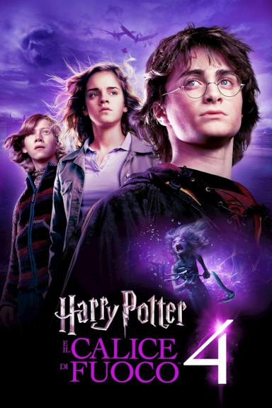 Poster Harry Potter e il calice di fuoco