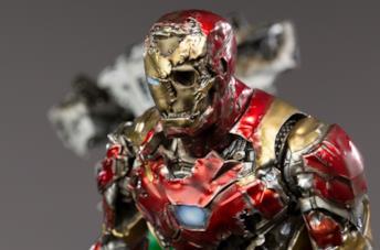 Iron Man zombie è adesso una statua di Iron Studios