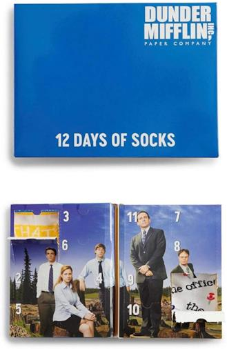 Il calendario dell'avvento con 12 paia di... calzini