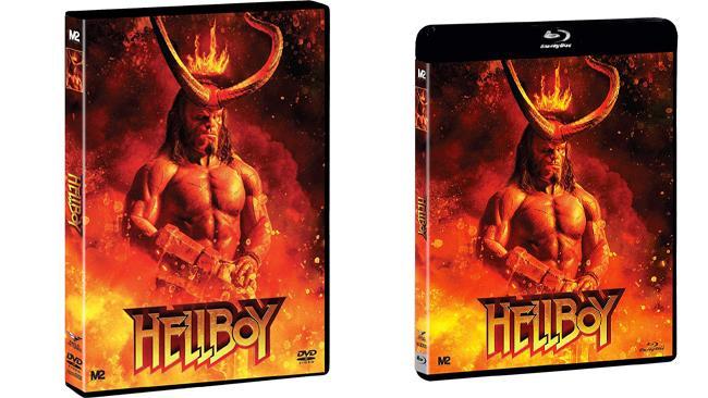 Hellboy - il film nei formati Home Video DVD e Blu-ray