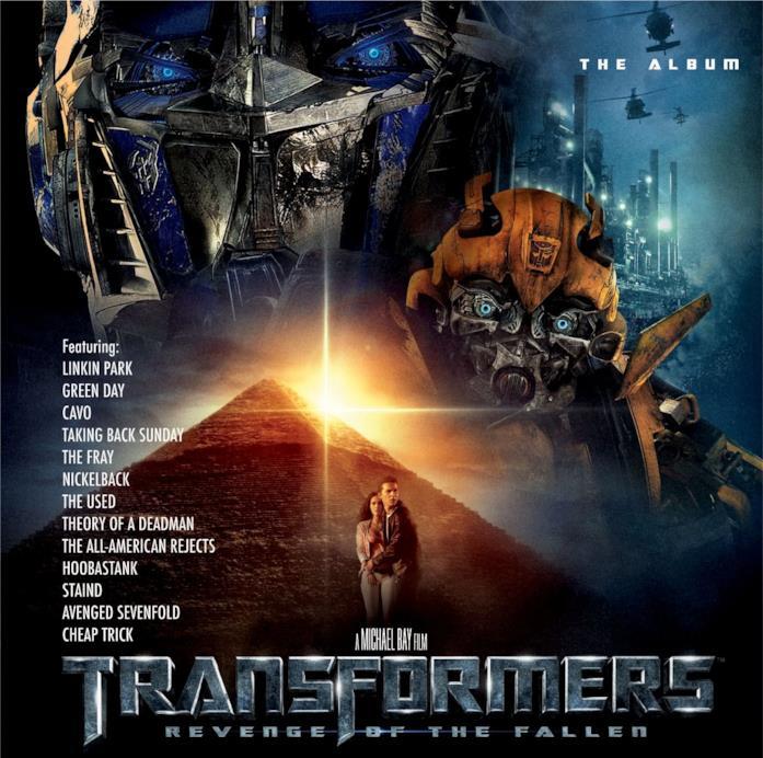 La colonna sonora di Transformers - La vendetta del caduto