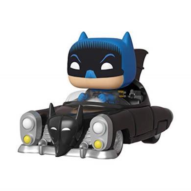 Funko- Pop Rides 80th: Batman (1950) Figura da Collezione, Multicolore, 37252