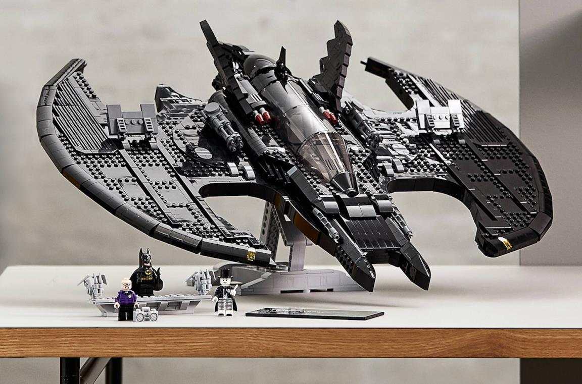 Un'immagine del LEGO Batwing