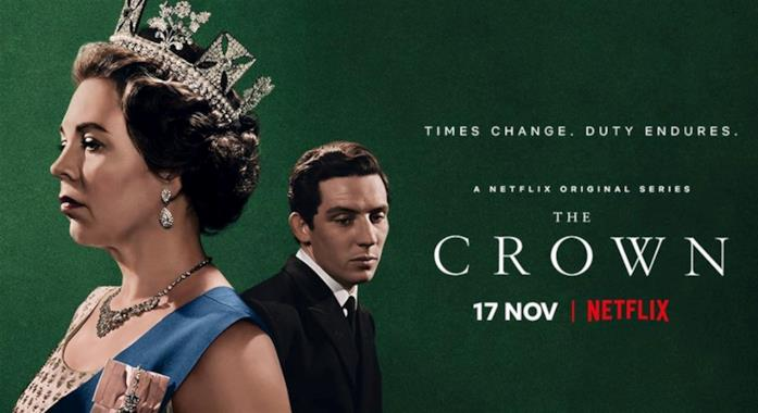 La Regina Elisabetta II nella terza stagione di The Crown