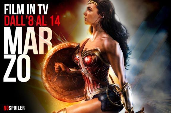 I film in TV dall'8 al 14 marzo 2021
