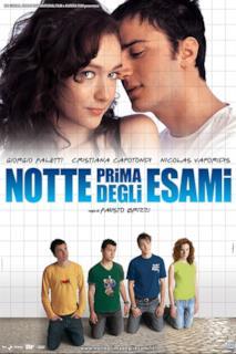 Poster Notte prima degli esami