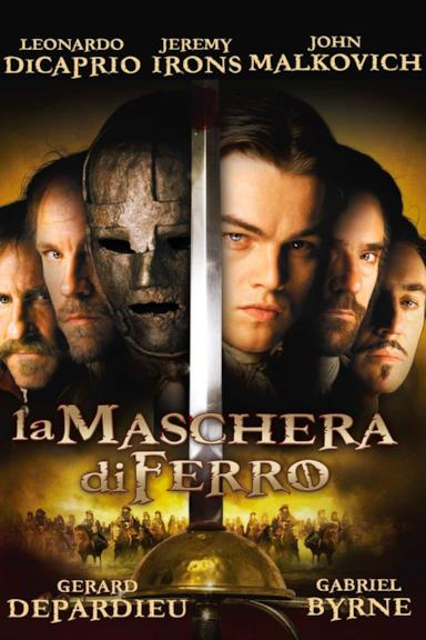 Poster La maschera di ferro