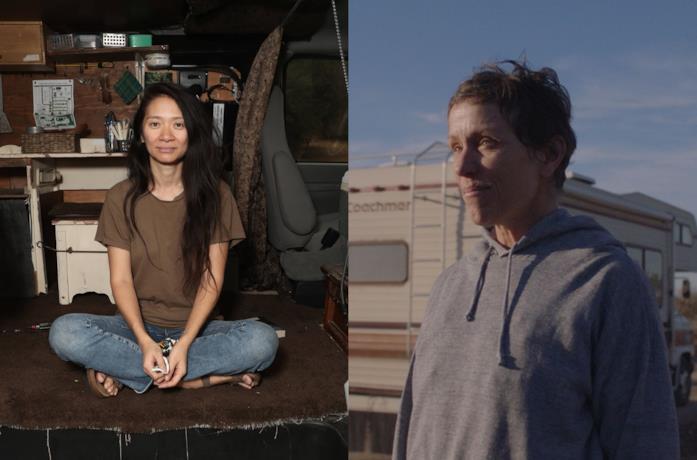 Chloé Zhao e Frances McDormand