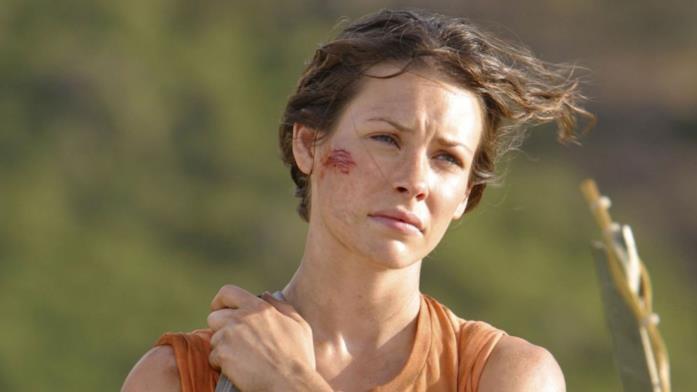 Primo piano di Evangeline Lilly in Lost