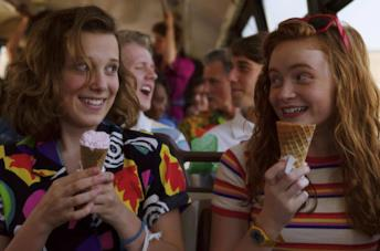 Undici e Max nella terza stagione di Stranger Things