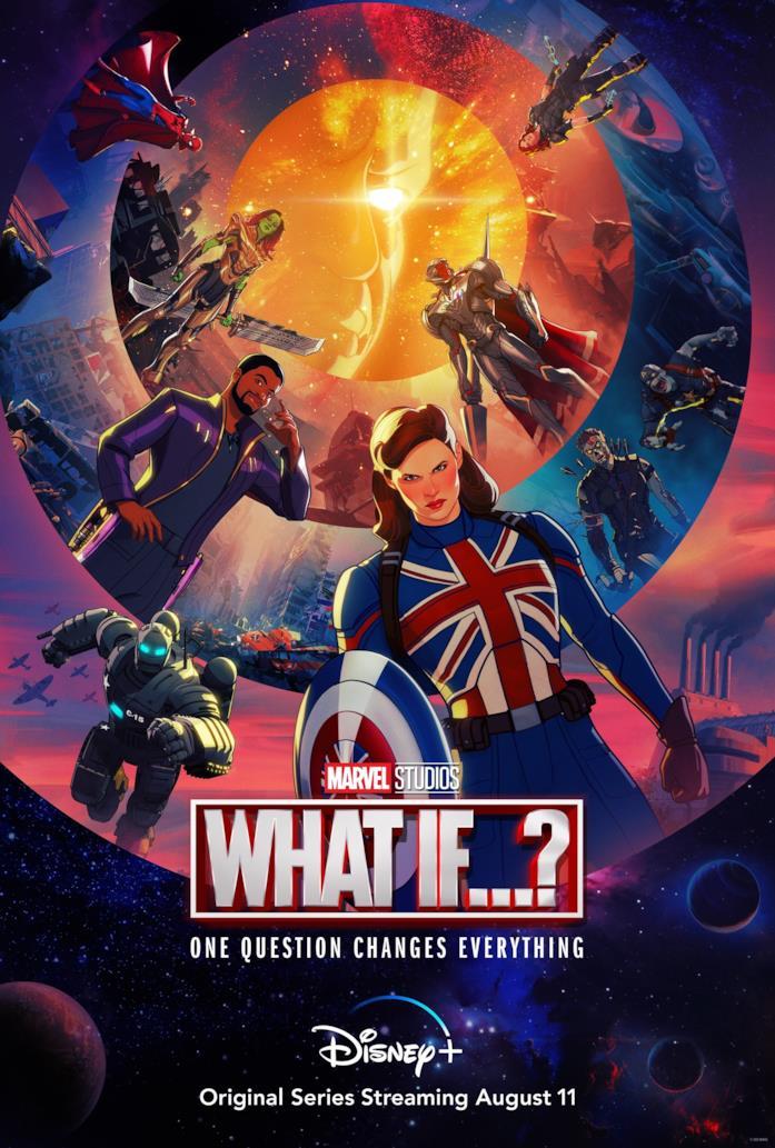 Il poster di What If...?