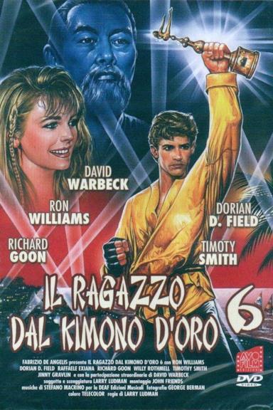 Poster Il ragazzo dal kimono d'oro 6