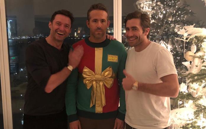 Hugh Jackman, Ryan Reynolds e Jake Gyllenhaal