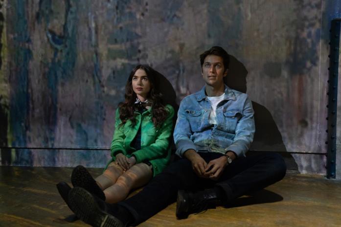 Emily e Gabriel sotto le stelle