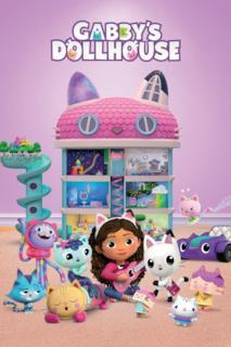 Poster La casa delle bambole di Gabby