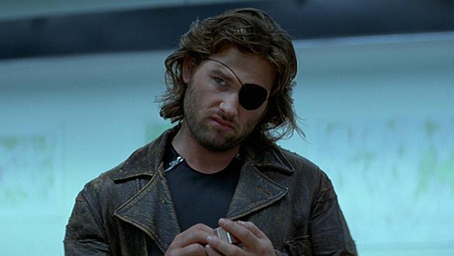 Un'immagine che ritrae Kurt Russell nel film 1997: fuga da New York