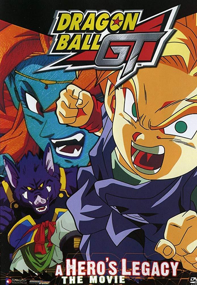 Goku jr. Pan Dragon Ball GT
