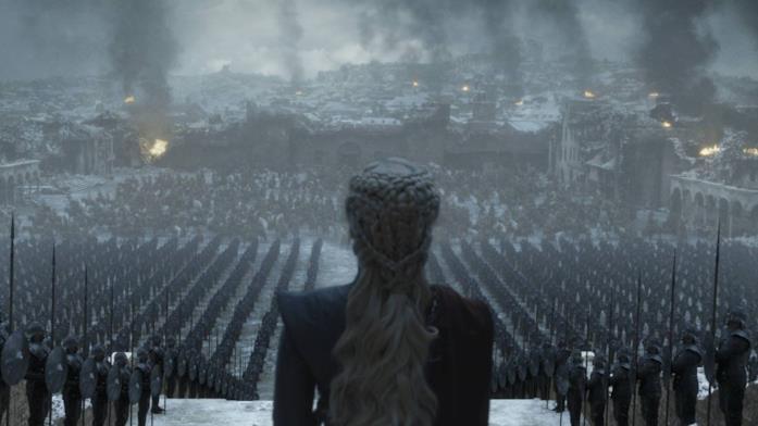 GoT 8x06: Daenerys Targaryen ad Approdo del Re