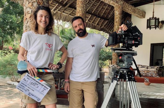 I due registi di Questa notte parlami dell'Africa, Carolina Boco e Luca La Vopa