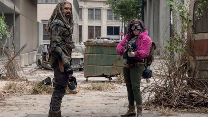 The Walking Dead: Ezekiel con Princess
