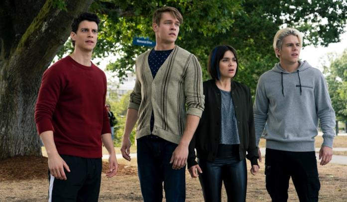 Randall, Hamish, Lilith e Jack turbati