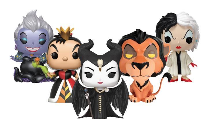 Alcuni cattivi Disney in formato Funko Pop!