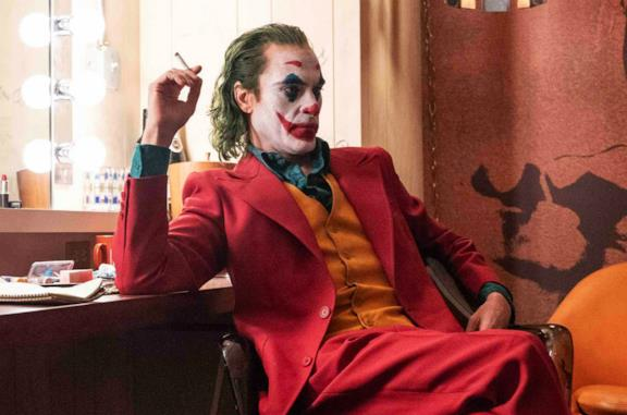 Un'immagine di Joaquin Phoenix nei panni di Joker