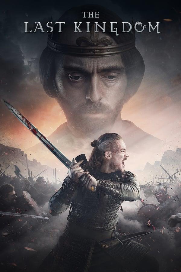 Alexander Dreymon e David Dawson nel poster di The Last Kingdom