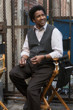 L'attore Denzel Washington