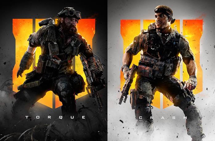Immagini promozionali di Torque e Crash per Call Of Duty Black Ops 4